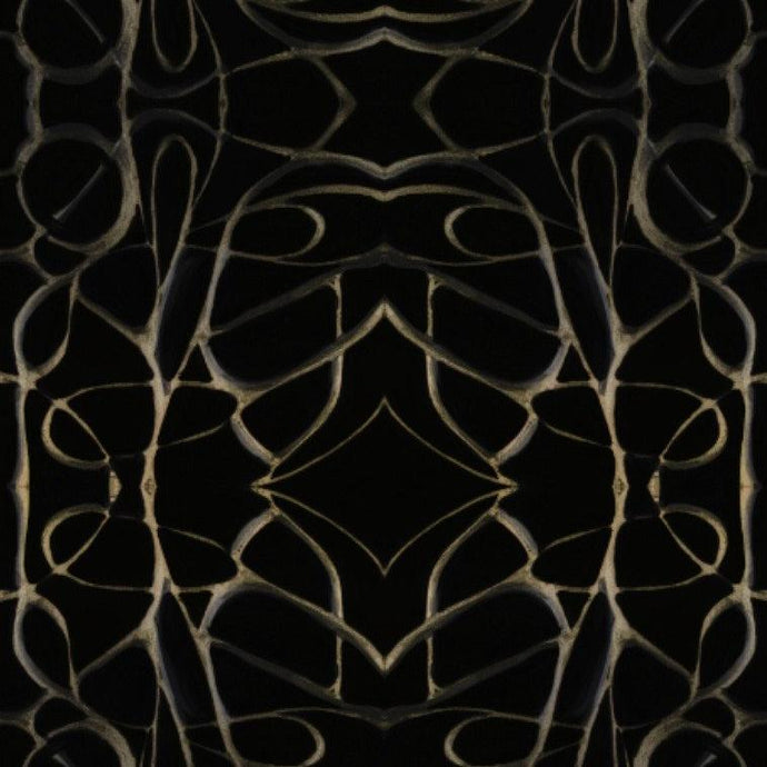 51514 Black Gold Wallcovering