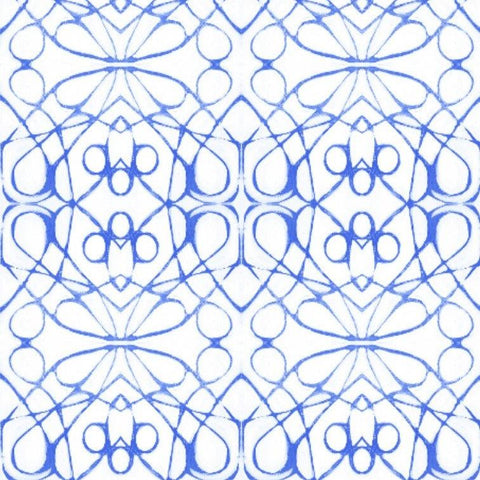 51614 Blue  Wallcovering