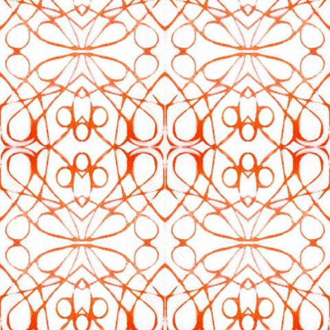 51614 Orange Red Wallcovering