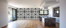 Load image into Gallery viewer, 81613 Black White Inverse Alta Wallcovering