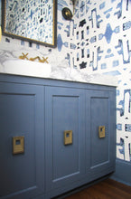 Load image into Gallery viewer, 82113 Indigo Ocean Alta Wallcovering