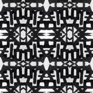 82113 Black White Fabric
