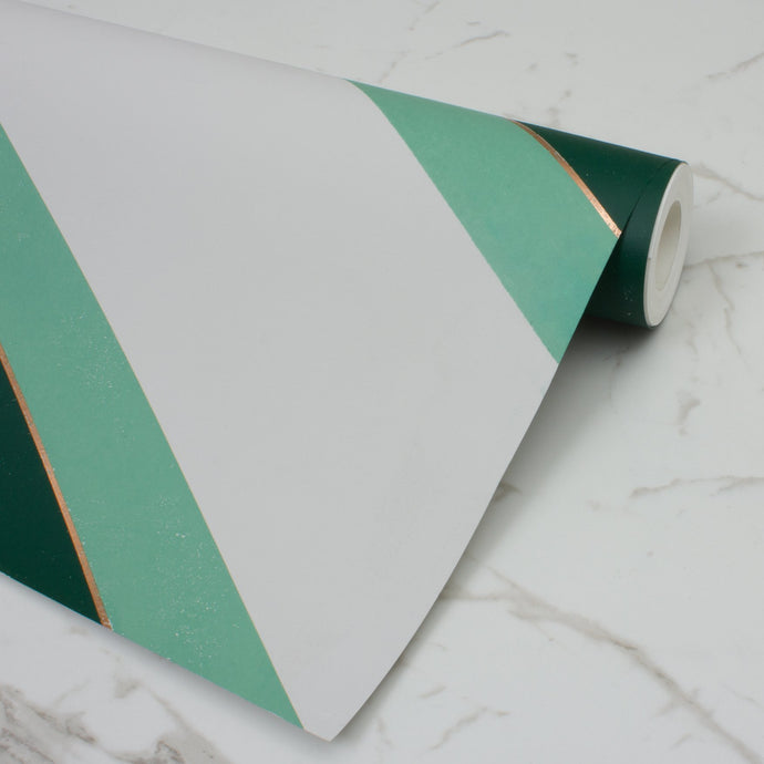 Overscale Accent Racing Green Wallcovering