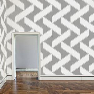 Overscale Accent Ash Wallcovering