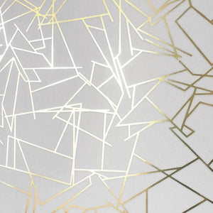 Angle Gold White Wallcovering