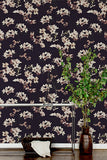 Cherry Black Wallcovering