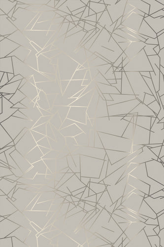 Angle Pewter Limestone Wallcovering