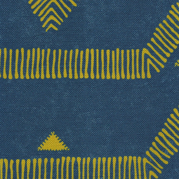 Arches Navy Fabric