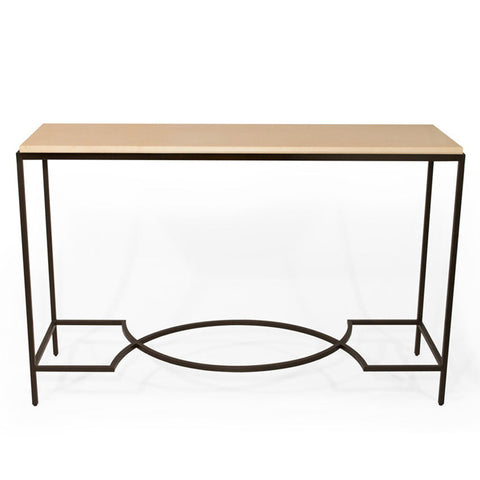 Beth Console With Geometric Stretcher