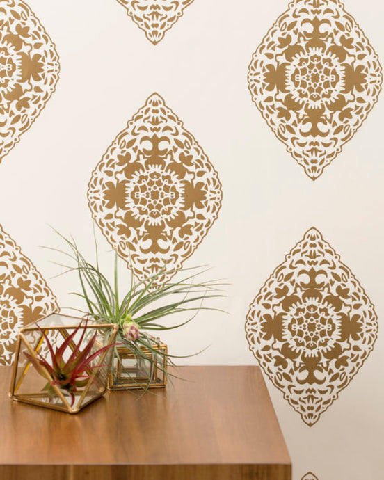 BOTEH-Gold Wallcovering
