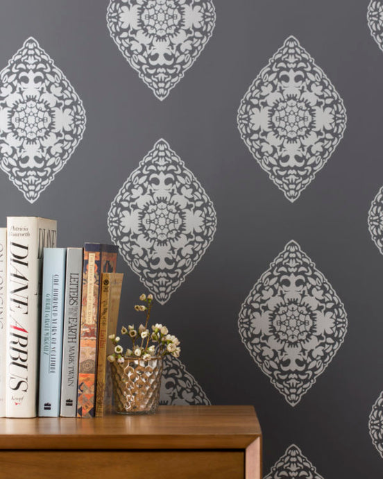 BOTEH-Silver Wallcovering