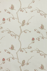The English Robin - Parchment Fabric