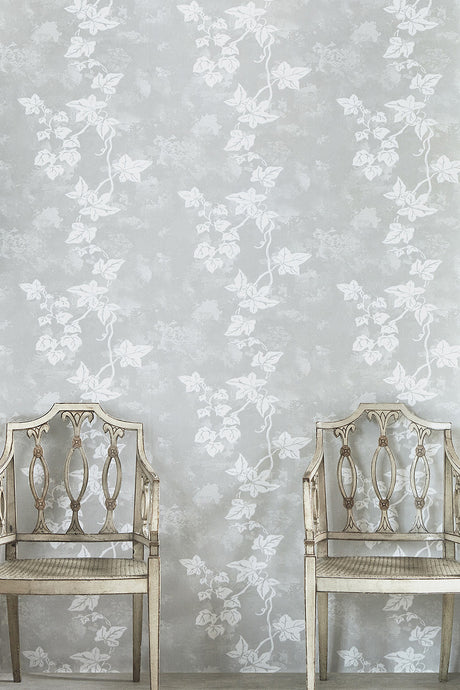 Ivy - Aged Grey Wallcovering