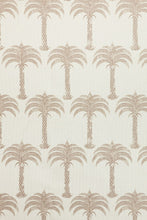 Load image into Gallery viewer, Marrakech Palm - Soft Gold Fabric