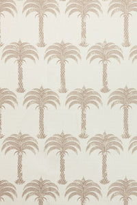 Marrakech Palm - Soft Gold Fabric
