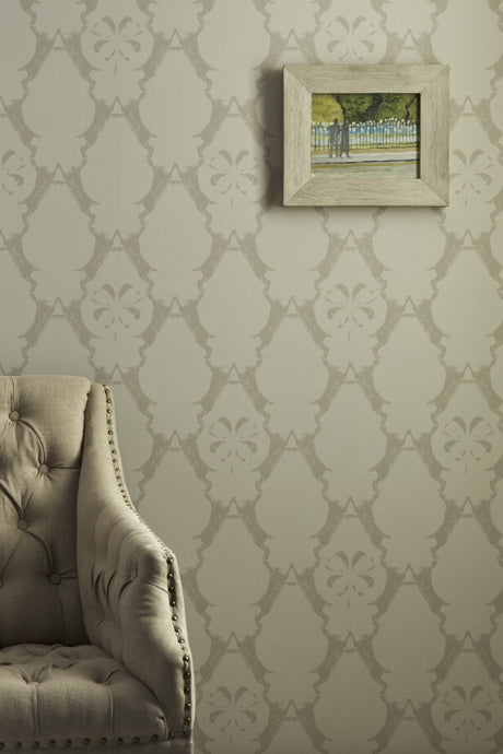 Boxing Hares - Stone Wallcovering