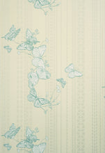 Load image into Gallery viewer, Bugs & Butterflies - Ice Blue Wallcovering