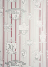 Load image into Gallery viewer, Carpe Noctem - Hot Pink Silver Wallcovering