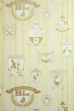 Load image into Gallery viewer, Carpe Noctem - Lime Gold Wallcovering