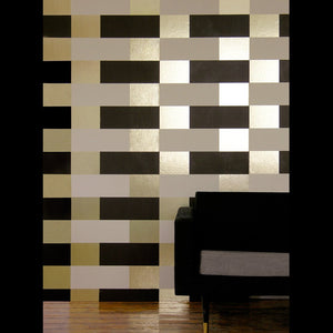 Block Cream Gold Wallcovering