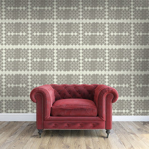 BEBE Charcoal & Truffle Wallcovering