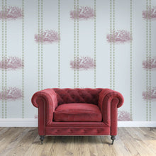 Load image into Gallery viewer, William Taupe Wallcovering
