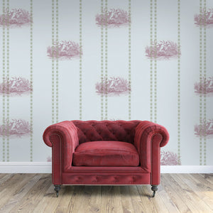 William Taupe Wallcovering