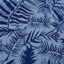 Load image into Gallery viewer, Hutan Navy On Monsoon Linen Fabric