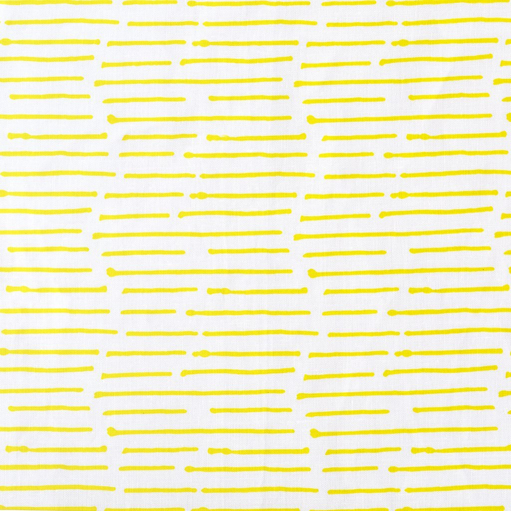 Ink Stripe Chartreuse Fabric