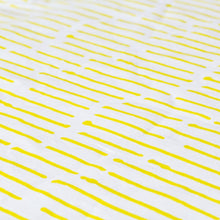 Load image into Gallery viewer, Ink Stripe Chartreuse Fabric