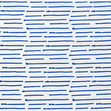 Load image into Gallery viewer, Ink Stripe Cobalt Fabric