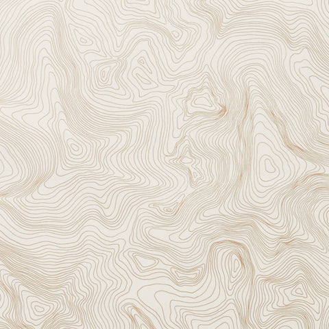 Contour - Gold Wallcovering