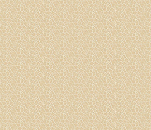 Crackle Wheat White Fabric