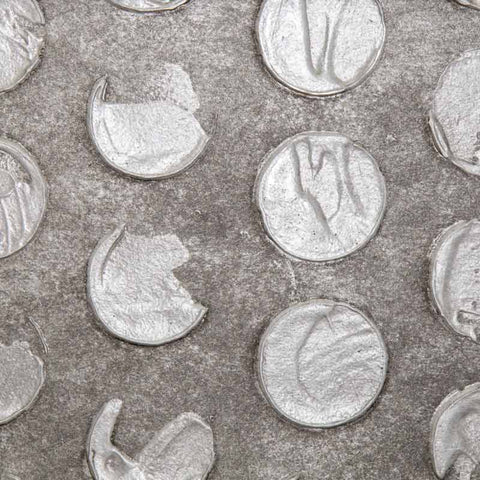 Cercle Pewter Wallcovering
