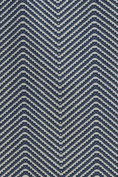 Chevron - Ink Blue Fabric