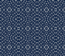 Load image into Gallery viewer, Chics Navy White Fabric