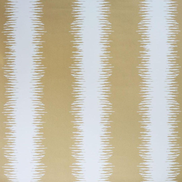 Chika Bastille Brass Metallic Wallcovering