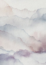 Load image into Gallery viewer, Cloud Mauve Wallpaper