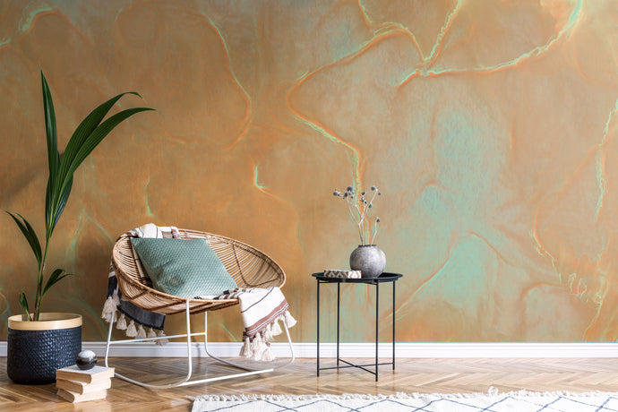 Copal Copper Wallcovering