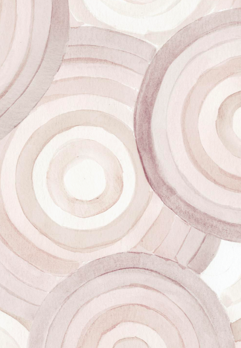 Spaceage Sugar Ash Rose Wallcovering