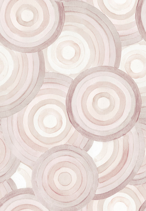 Cosmic Candy Ash Rose Wallcovering