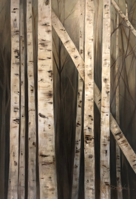 Donna Hughes Birch Trees no.1