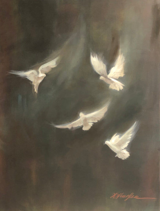 Donna Hughes Birds in Flight