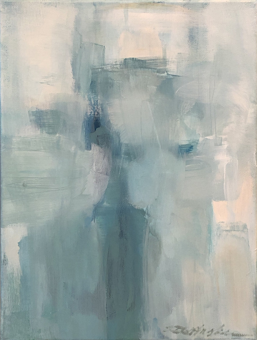 Donna Hughes Blue Haze Series no.6