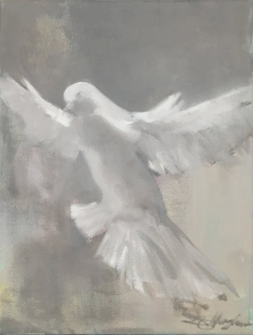 Donna Hughes White Dove no.1