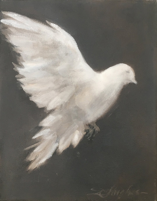 Donna Hughes White Dove no.2