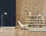 Deep Field Blue Shift Wallcovering
