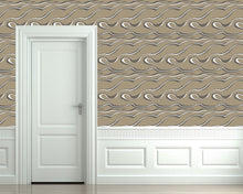 Load image into Gallery viewer, Denali Caesar Metallic Grasscloth