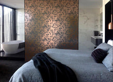 Load image into Gallery viewer, Desert Copper Rose Battleship Grey Wallcovering