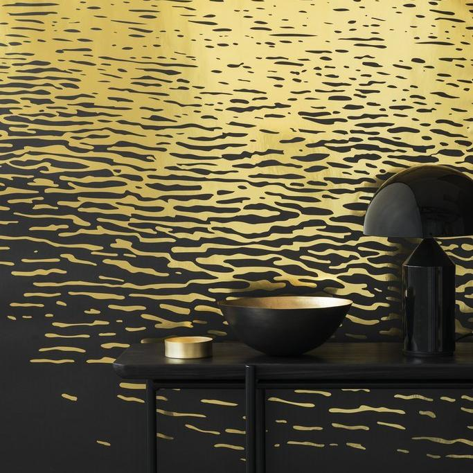 Reflection Gold Type II Wallcovering